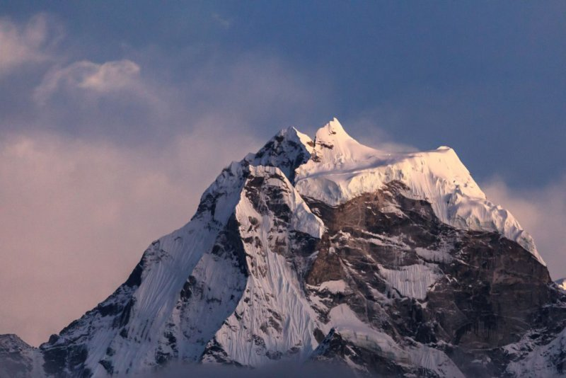 Just a gorgeous mountain to whet your appetite ... all the effort to get here is totally worth it!