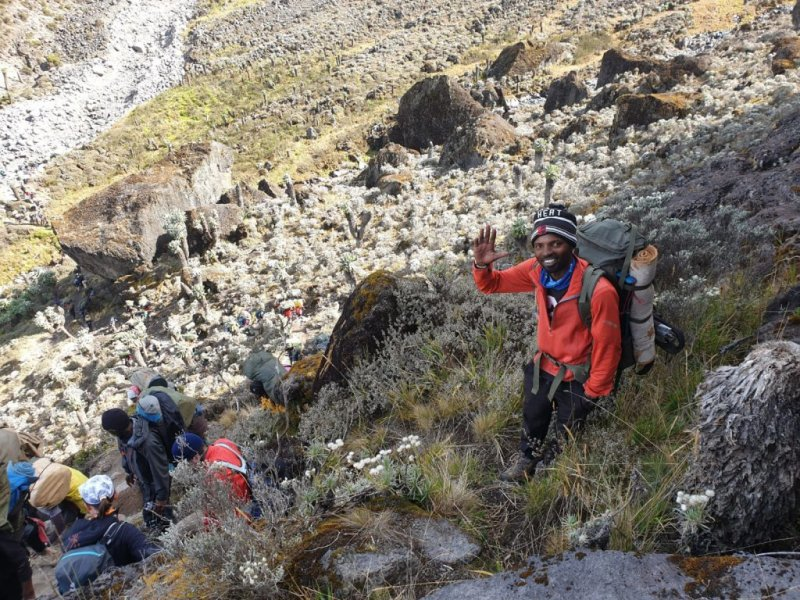 Barranco Wall Kilimanjaro, train for Kilimanjaro