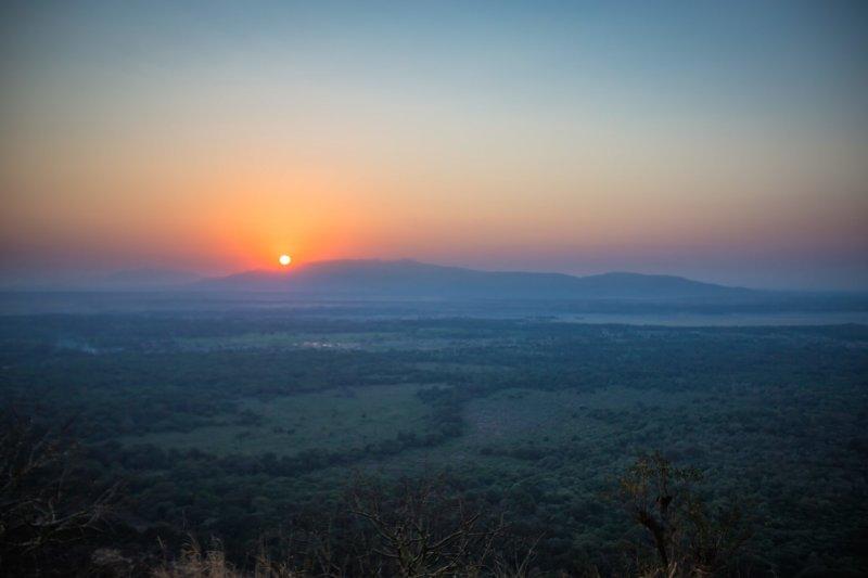Lake Manyara sunrise