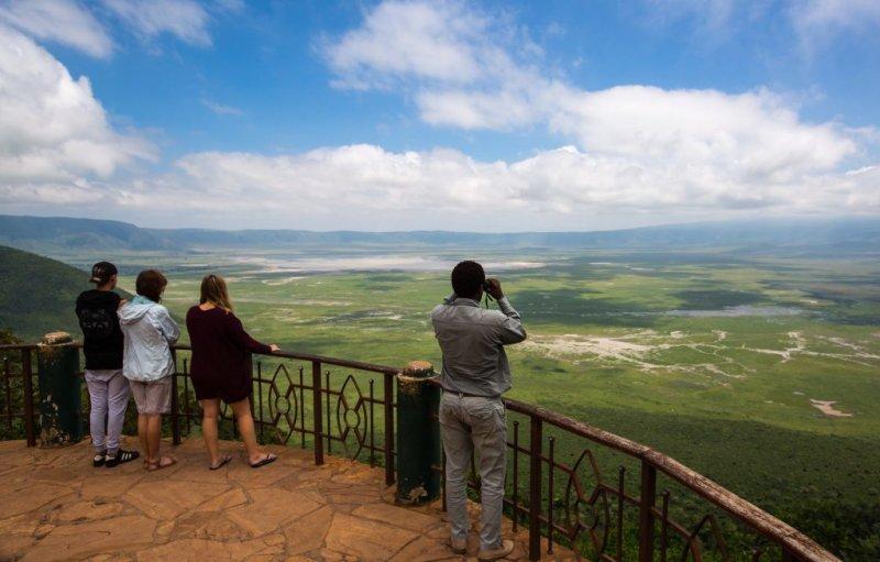 Ngorongoro Crater Tanzania safari