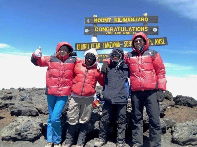down jackets kilimanjaro summit