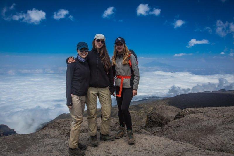 Mount Kilimanjaro Scenery from Umbwe Route