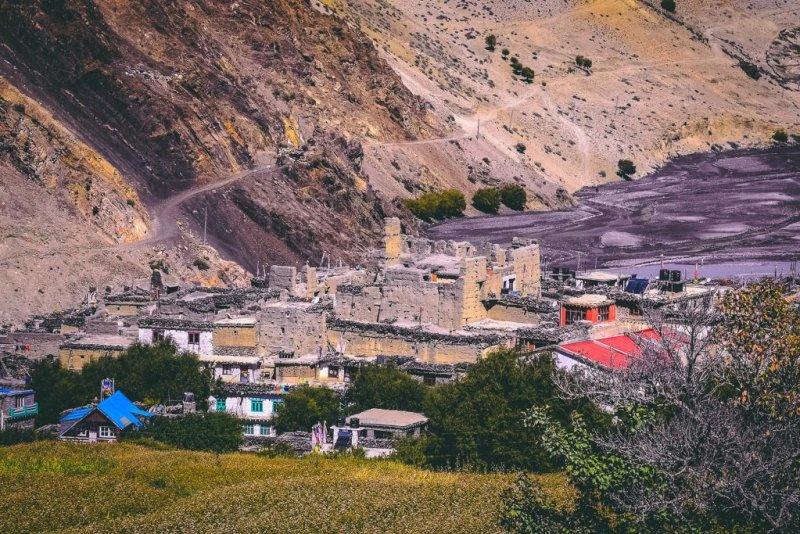 Jomsom Nepal, Annapurna Circuit route