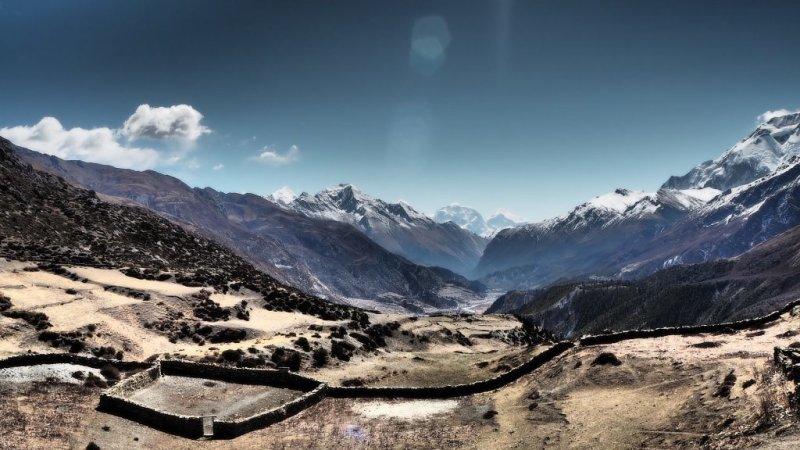 Annapurna Circuit route, Nepal