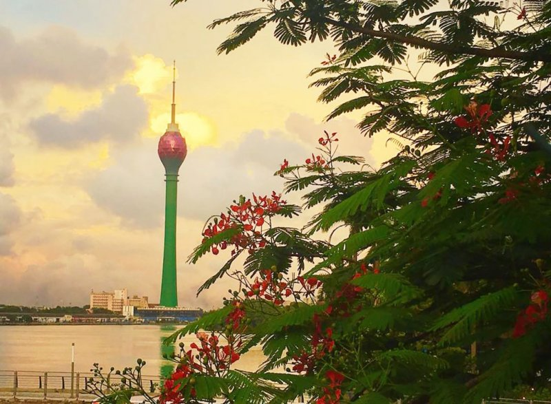 Lotus Tower in Colombo