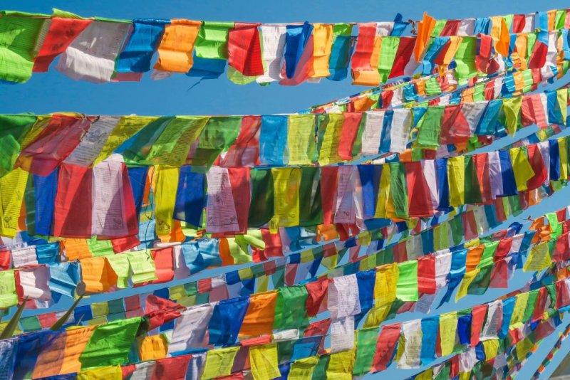 Nepal prayer fla