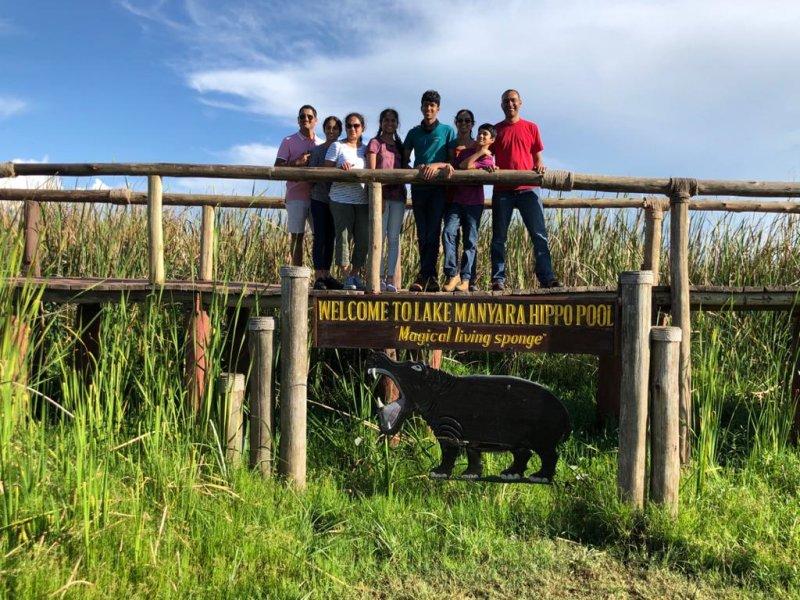 Follow Alice clients at the Lake Manyara Hippo Pool