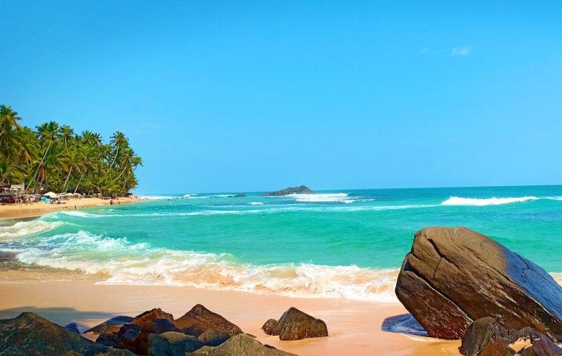 Dalawella Beach, Sri Lanka, Image by U. Wickramanayake