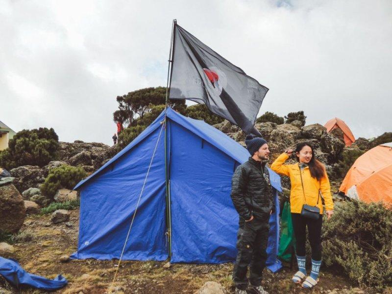 FA tent Kilimanjaro