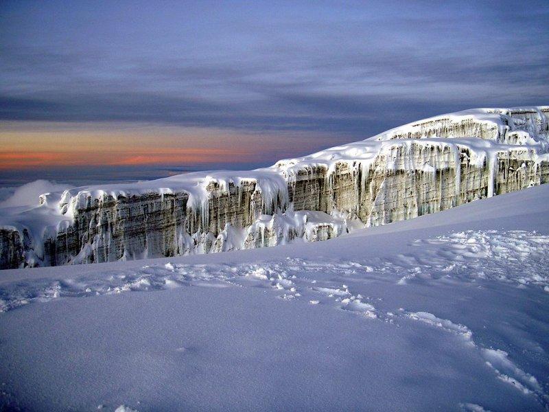 Southern Glacier on Kilimanjaro