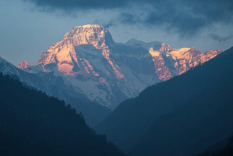Mountain, visiting Bhutan, Jogme Dorji