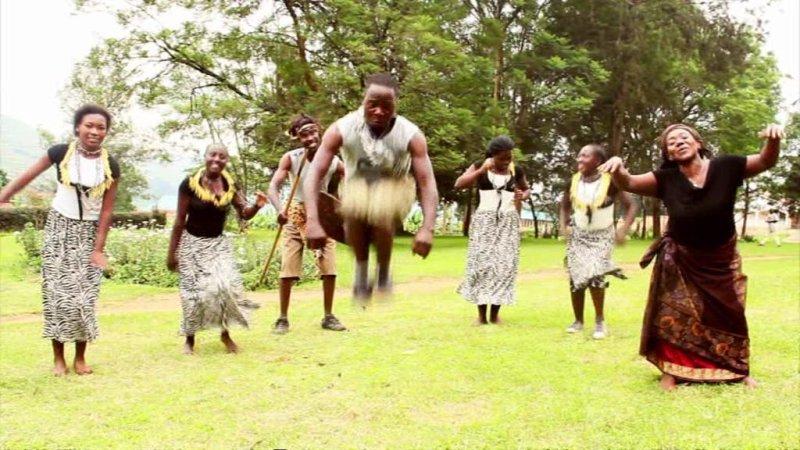 A Bakiga traditional dance, Uganda