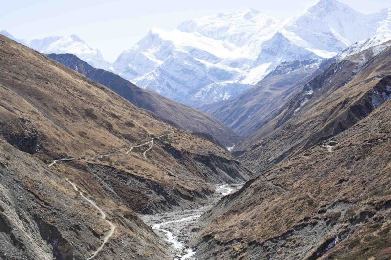 Annapurna Circuit route trail