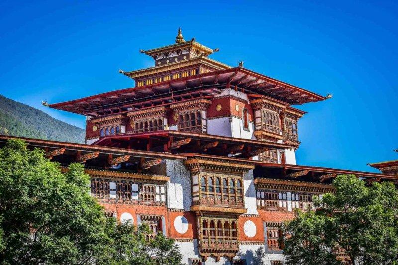Dzong Visiting bhutan