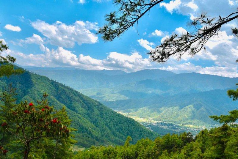 Paro, visiting Bhutan