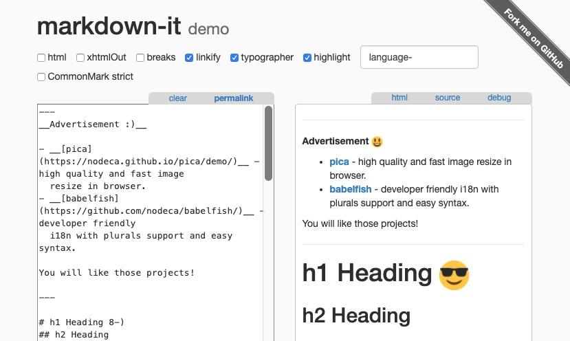 "markdown-itでリンクを開く際にtarget=""_blank"" rel=""noopener""を自動付与する"