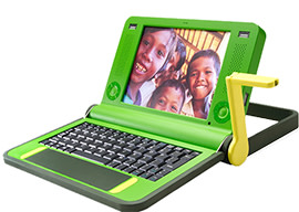 one laptop per child card