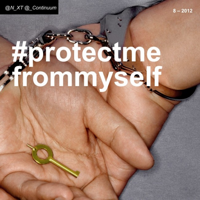 NXT #protectmefrommyself