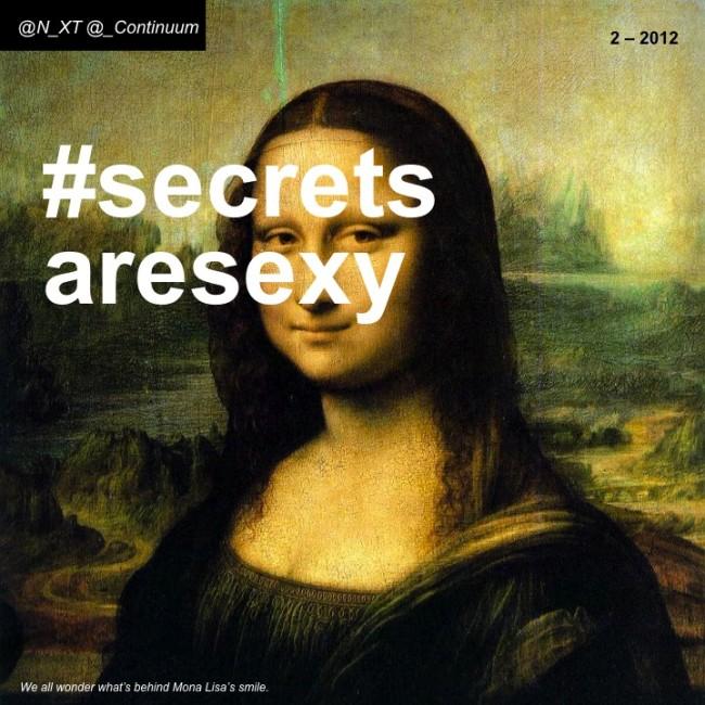 NXT #secretsaresexy