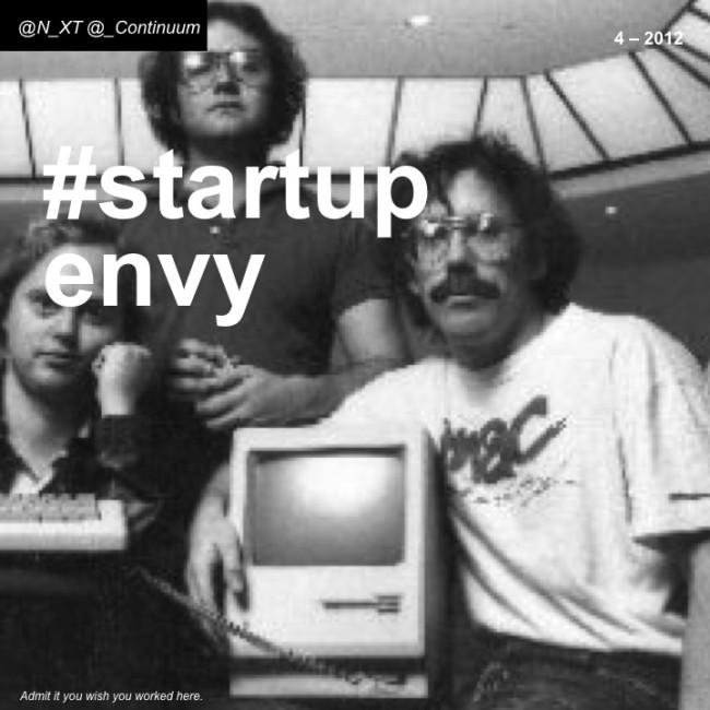NXT #startupenvy