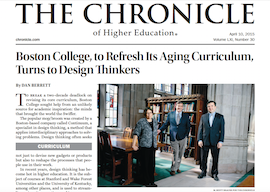 Boston College Chronicle of Higher Education thumbnail