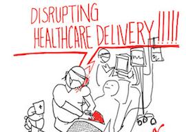 thumb disrupting healthcare sm