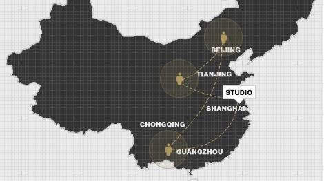 FPO Shanghai studio map