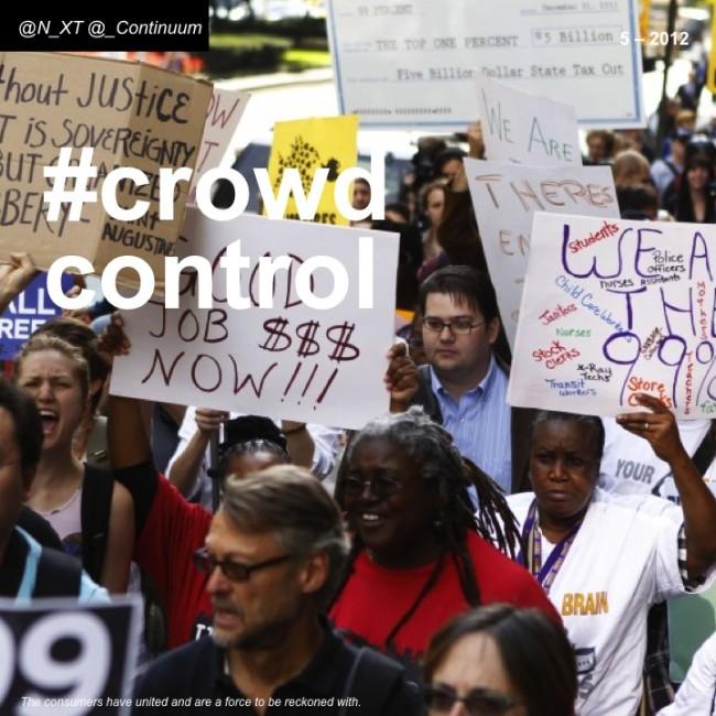 NXT #crowdcontrol