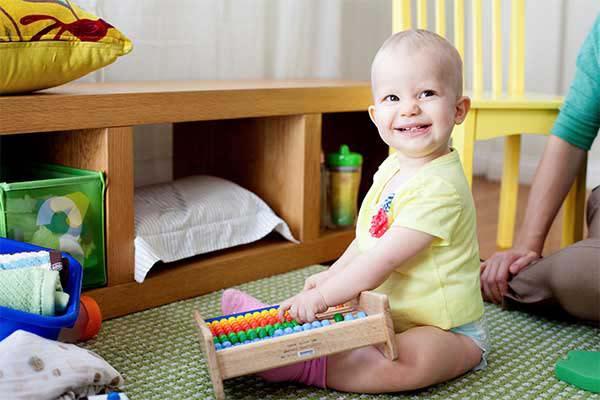 Actividades para o desenvolvimento psicomotor de bebés dos 12 aos 18 meses