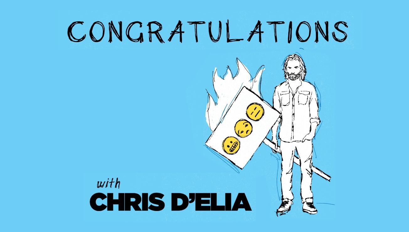 ** CANCELED ** Congratulations Podcast LIVE!