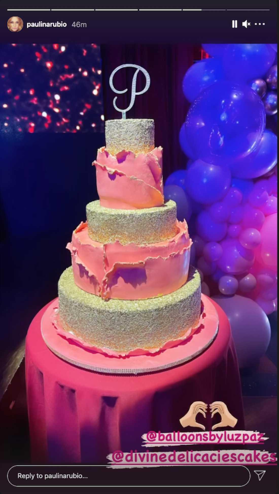 pastel paulina rubio
