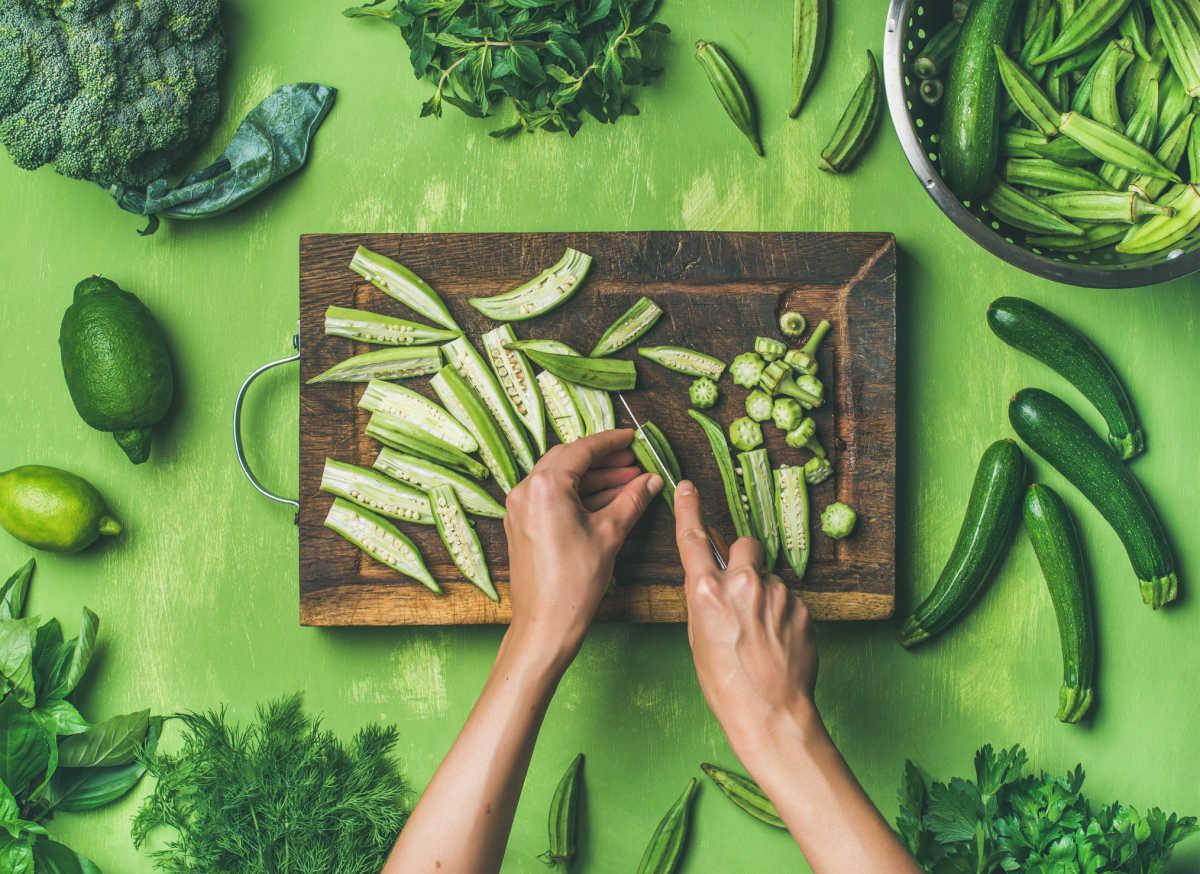 dieta mediterránea verde