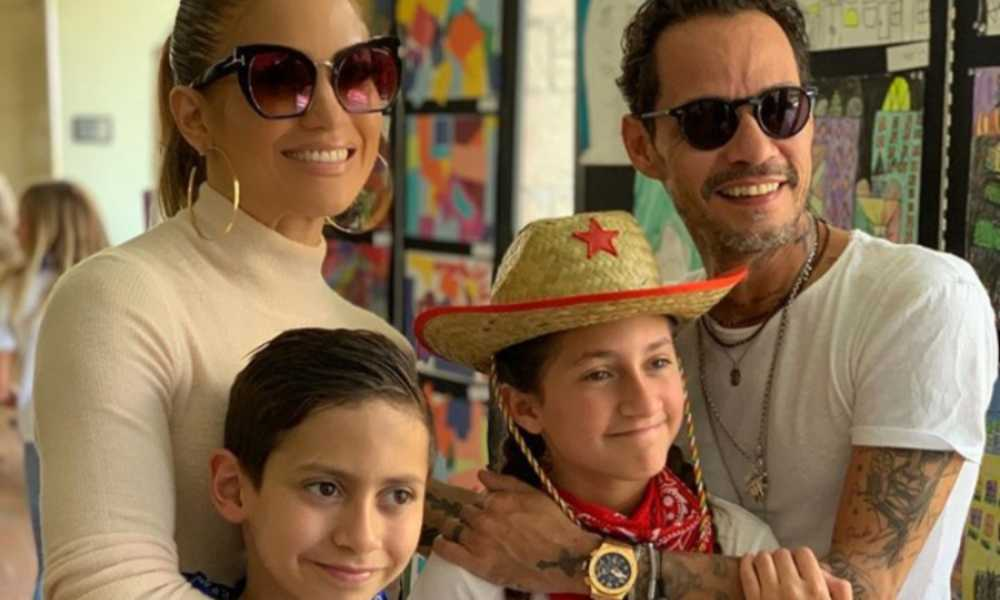 Los hijos de Jennifer López y Marc Anthony