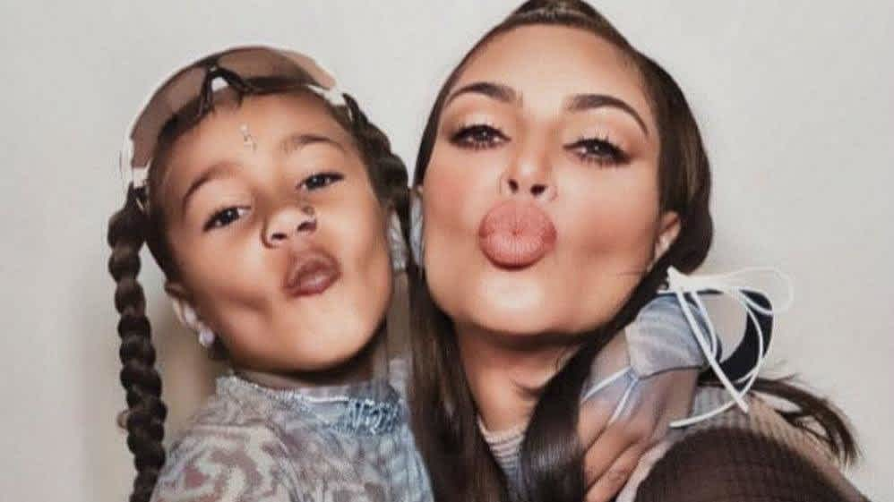 Kim Kardashian Criticized For North West S Nose Ring