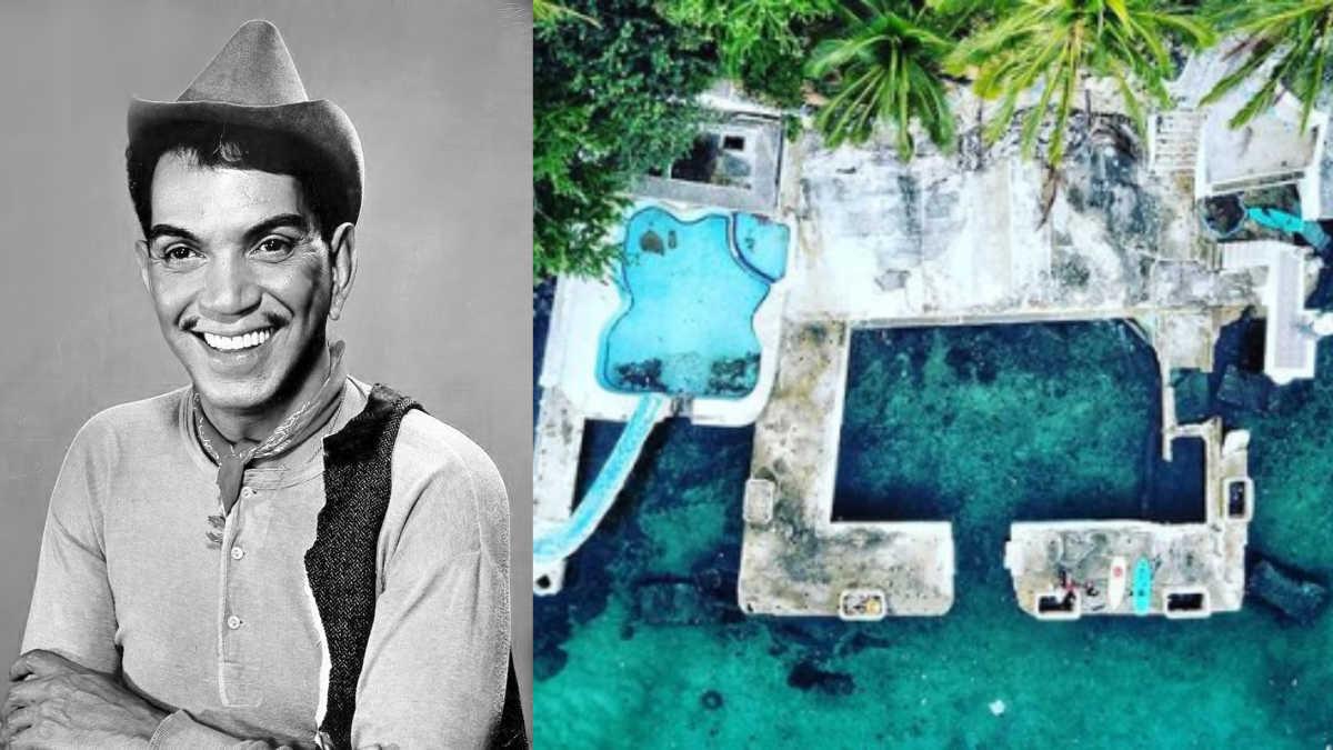 Así es la casa abandonada de Cantinflas en Acapulco | MamasLatinas.com