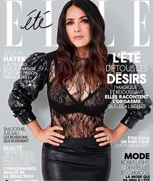 Es portada de la Elle francesa y de muchas revistas más.