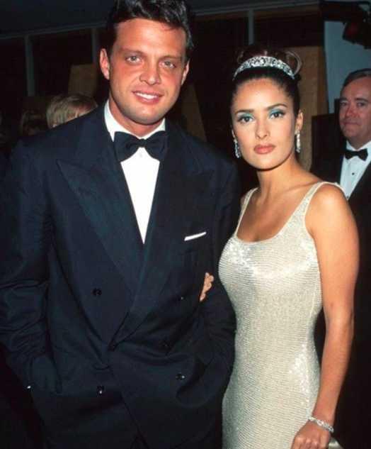 Se dio el lujo de acompañarse de Luis Miguel en su primera ceremonia de entrega de los Óscar.