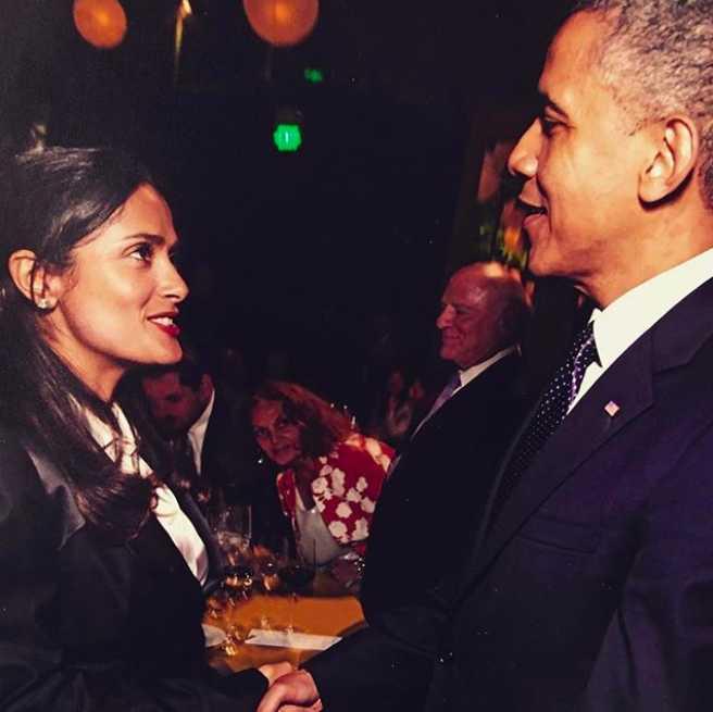 Conoce personalmente a Barack Obama.
