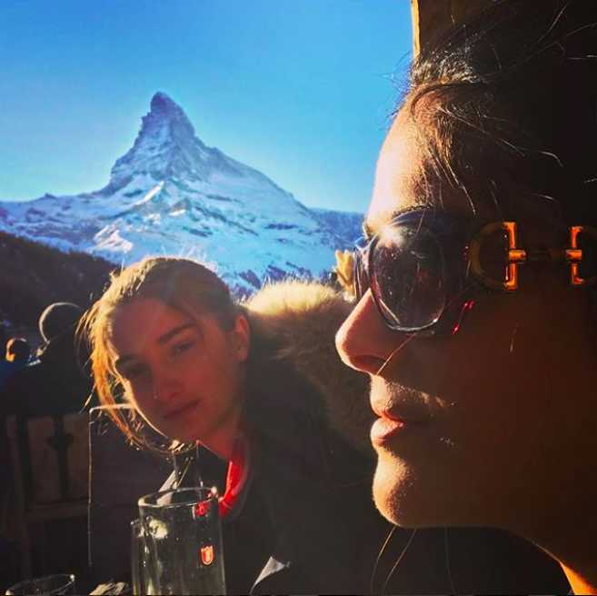 Vacaciona en los Alpes suizos.