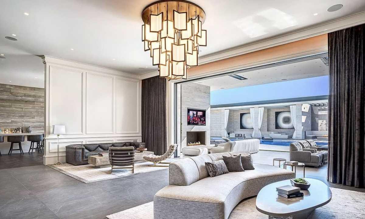 El salón es simplemente un sueño hecho realidad.