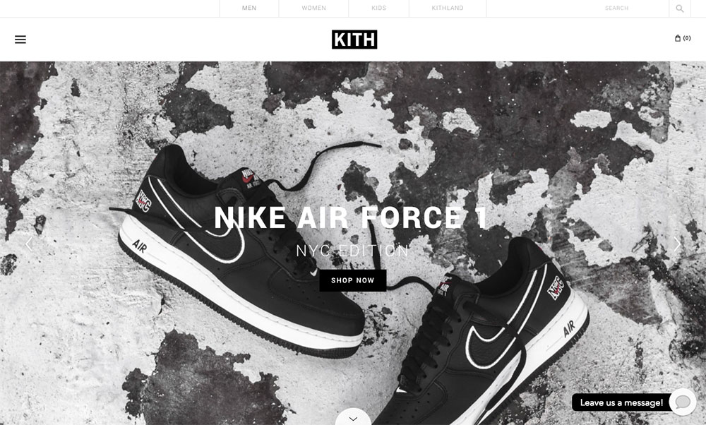 Awwwards Site Of the Year - KITH