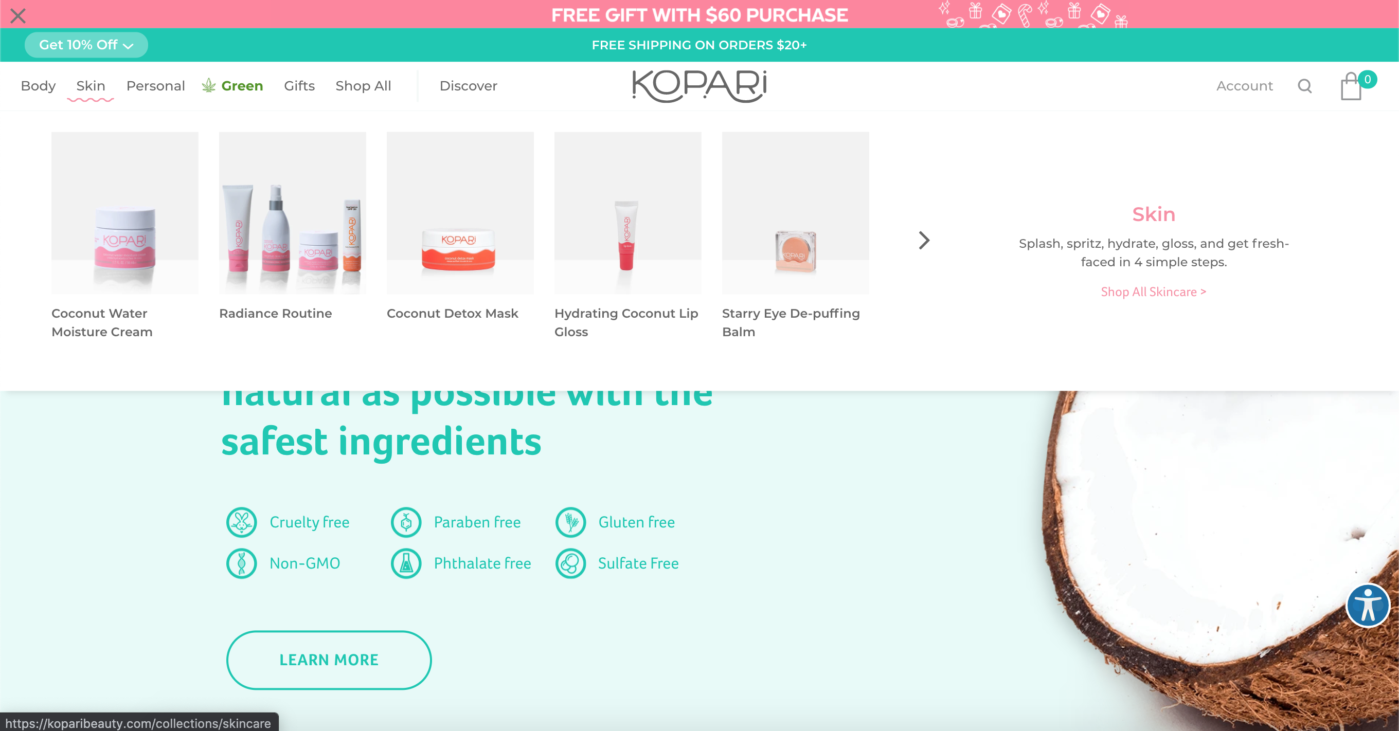 The Best Beauty & Skincare Brands on Shopify Plus–Kopari Beauty