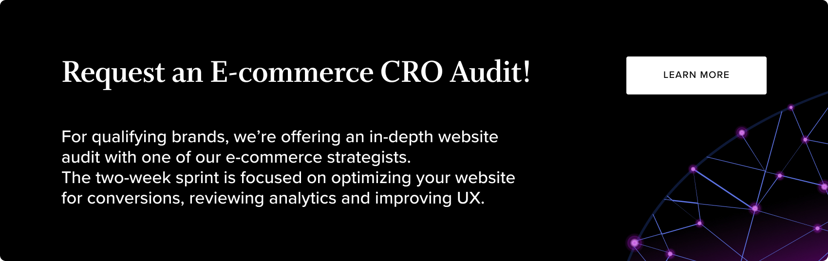 CRO Audit CTA