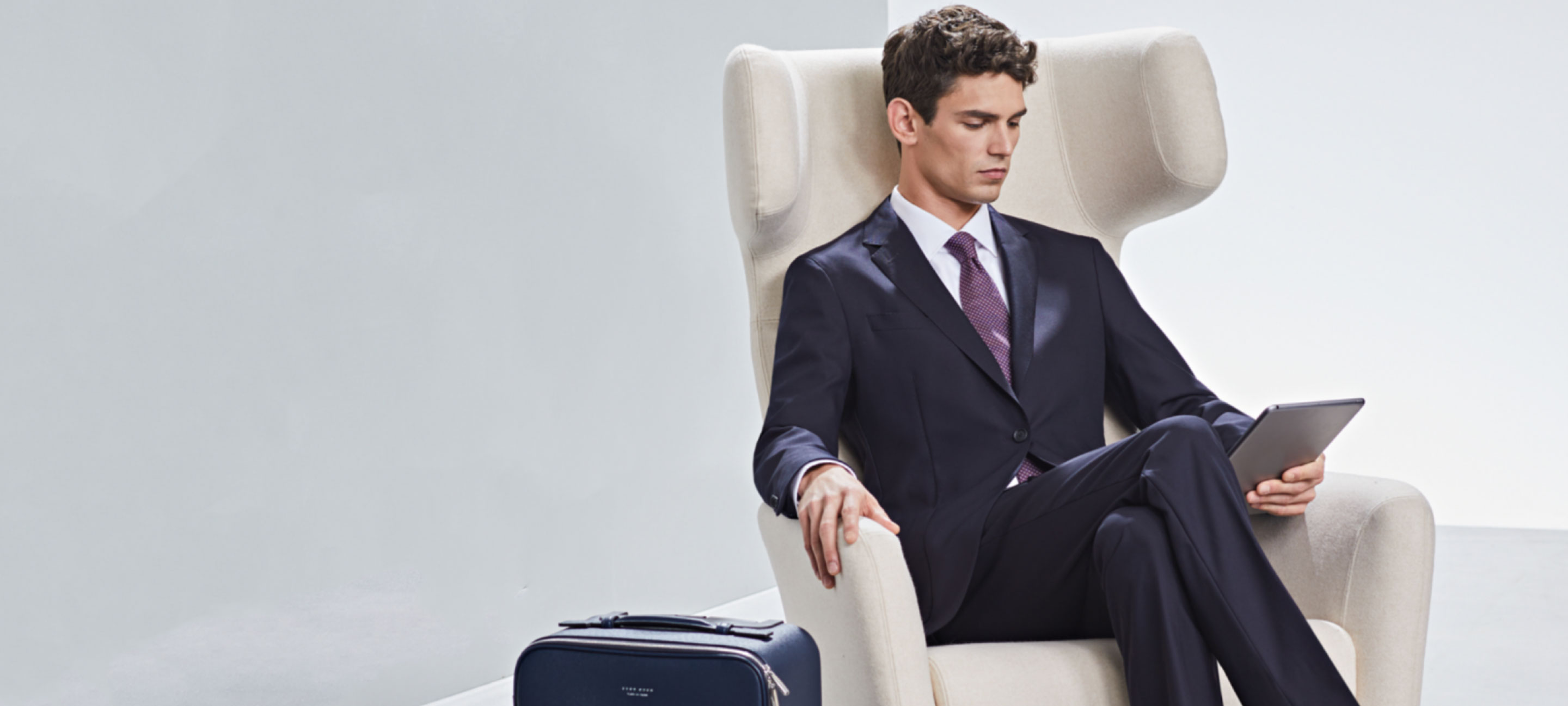 Hugo Boss lifestyle image for email marketing landing page