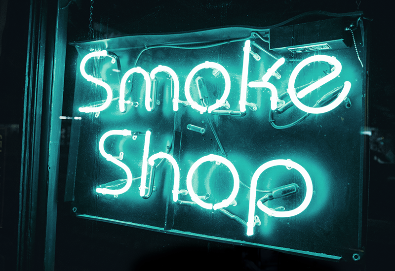 Avex Designs Smoke Shop Sign Cannabis Sales Article