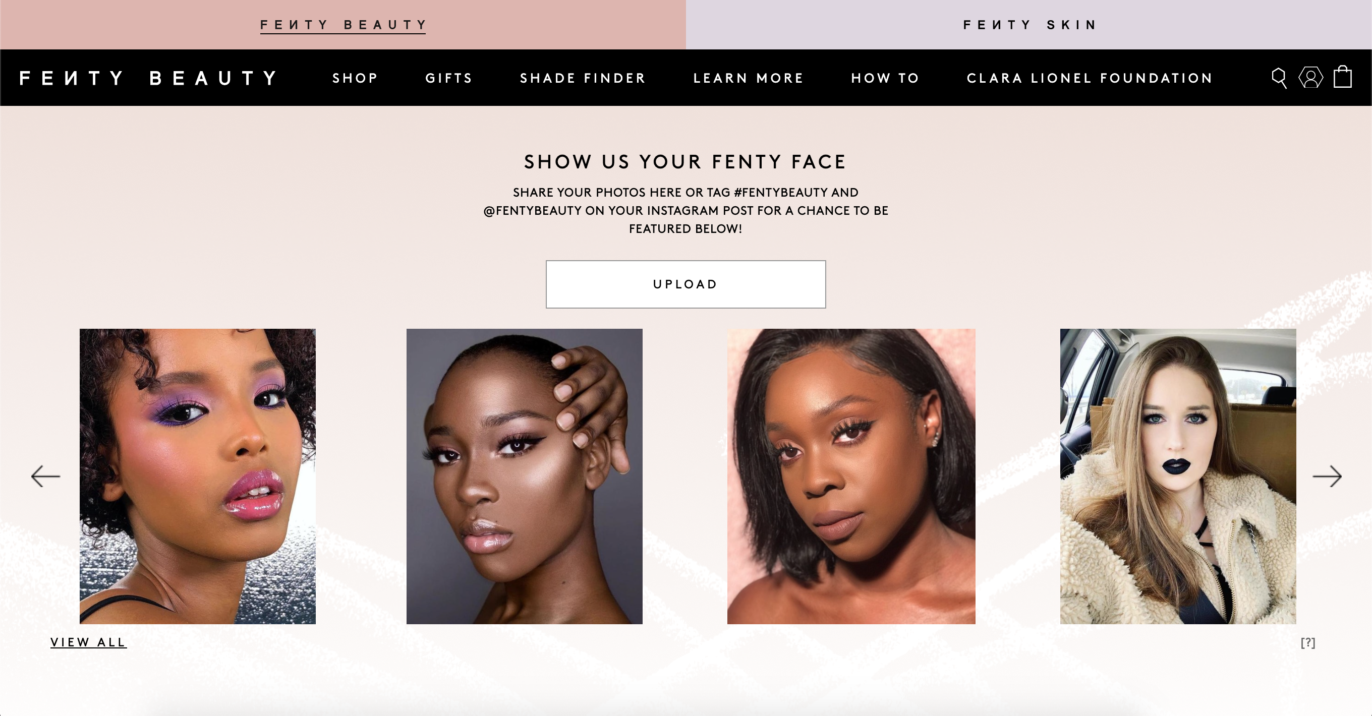 The Best Beauty & Skincare Brands on Shopify Plus–Fenty Beauty
