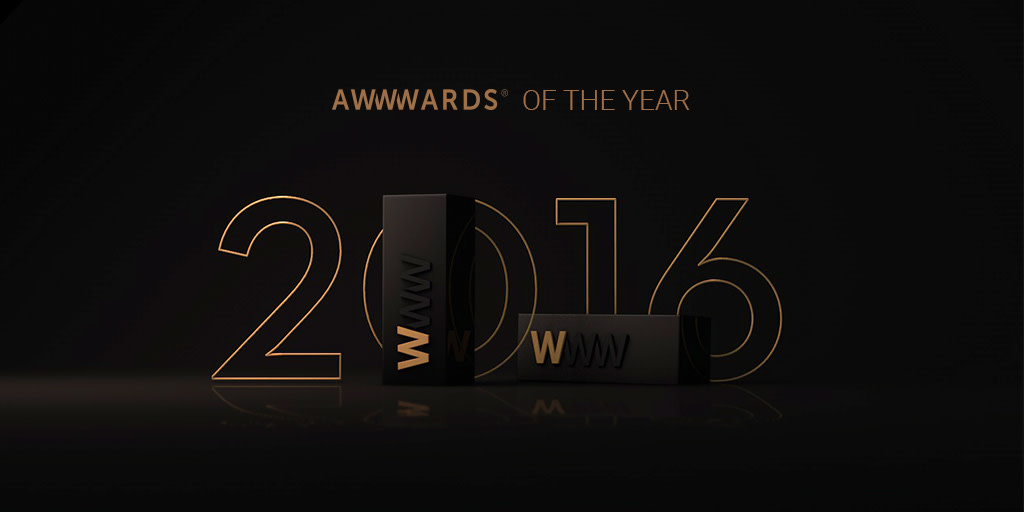 Awwwards Site Of the Year Nomination