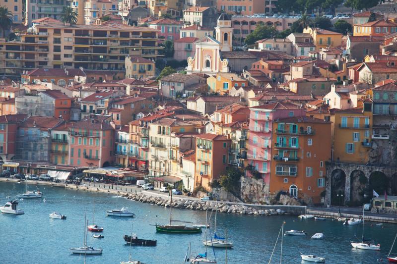 Nice, en populär stad på Rivieran.