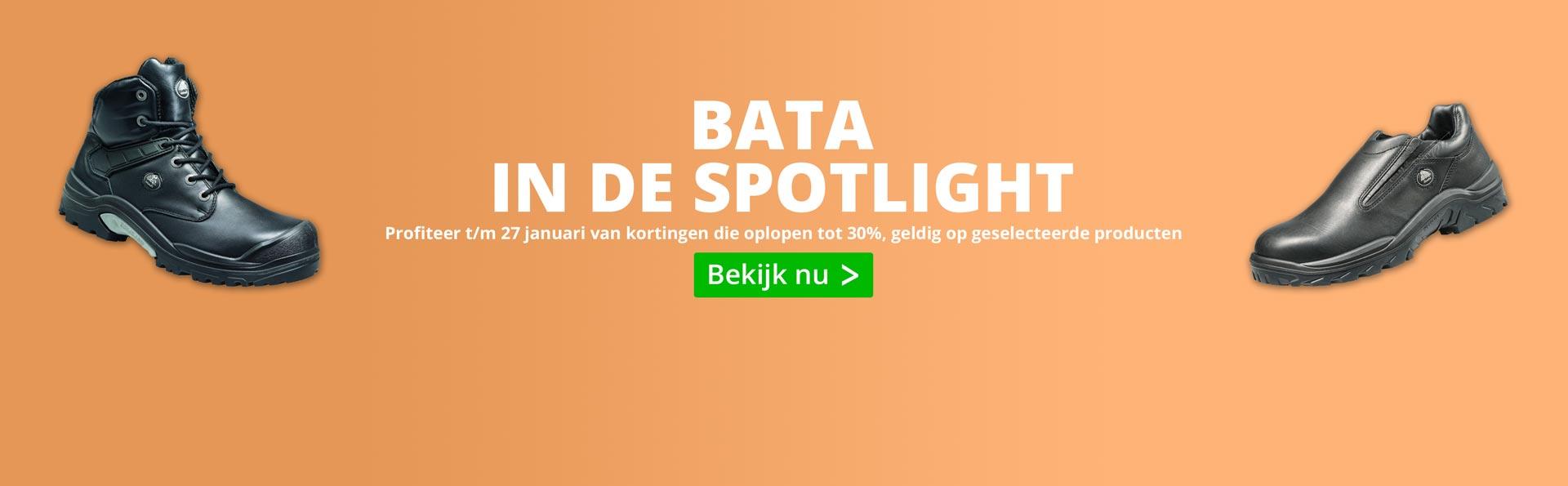 Bata actie - tot 30% korting op Bata.