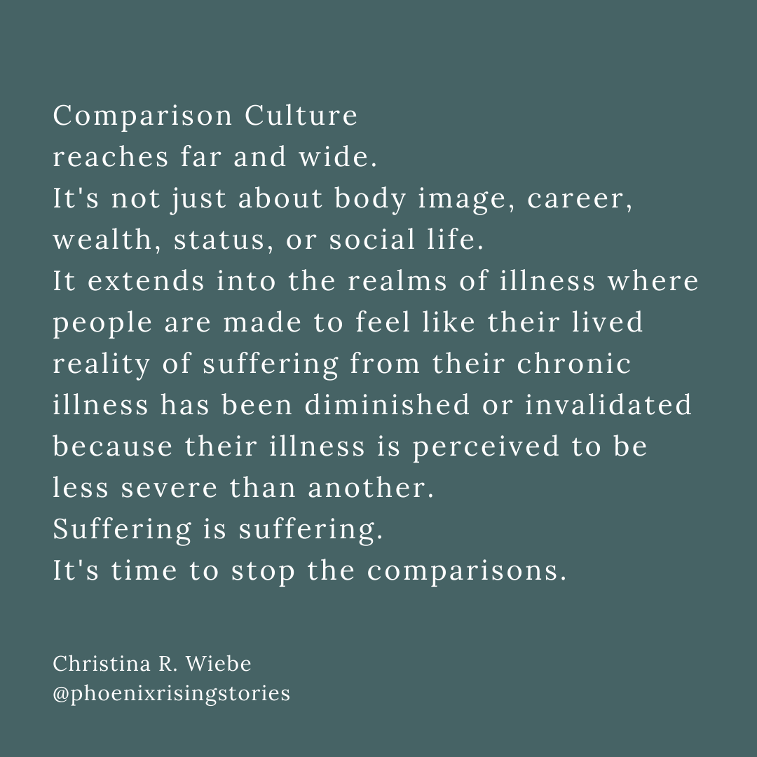 comparison-culture-chronic-illness